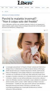 notizie libero malattie invernali