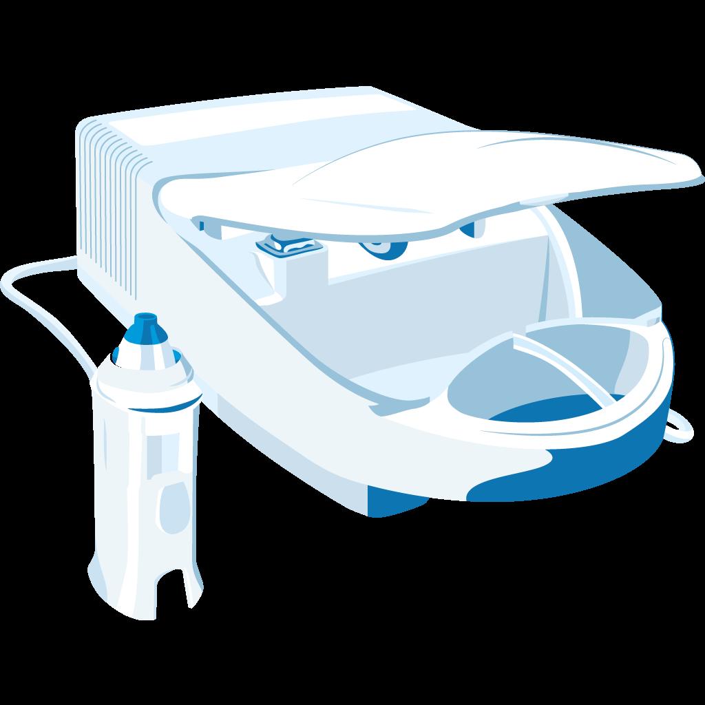 dispositivo doccia nasale