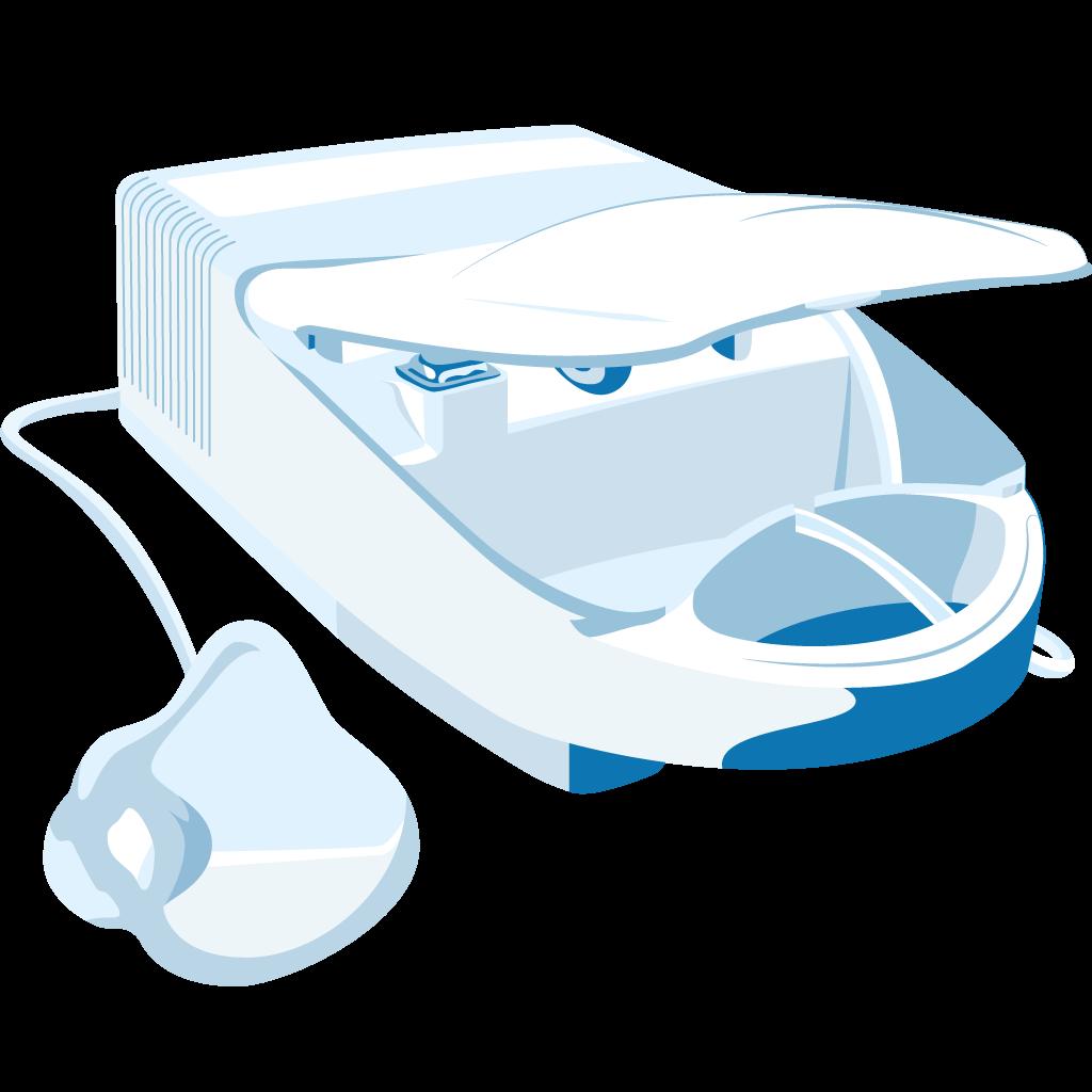 dispositivo aerosolterapia Pro maschera