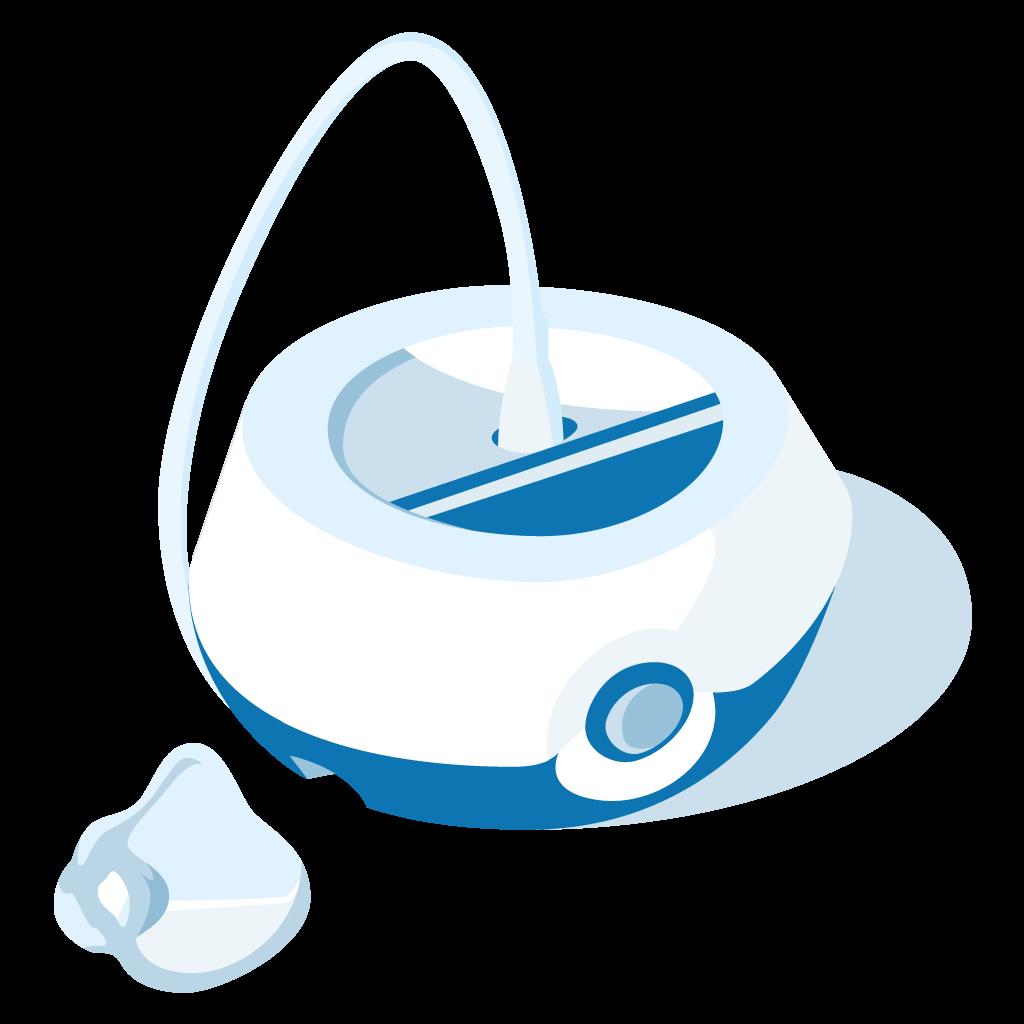 aerosolterapia dispositivi nebulizzatore mascherina kid