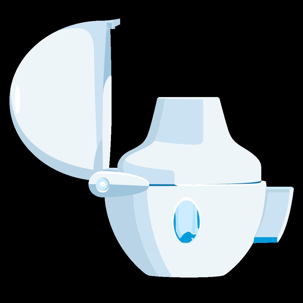 dispositivo inalatore polvere secca handihaler