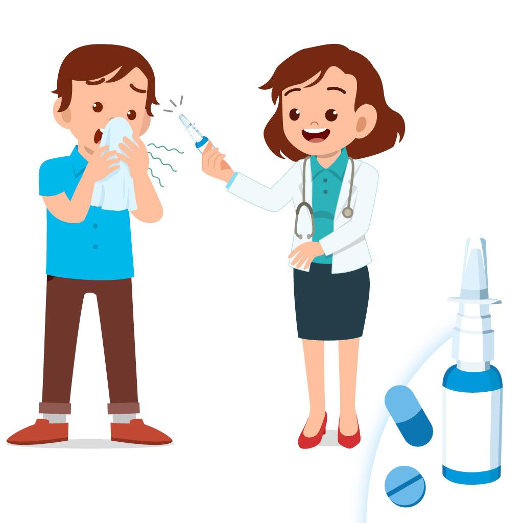 rinite trattamenti spray nasale