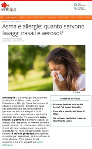 notizie sanihelp asma e allergie