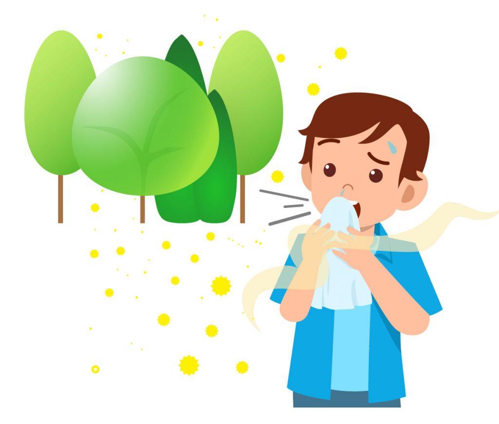 Un respiro di salute - Allergie ai pollini