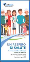 leaflet un respiro di salute