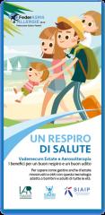 leaflet un respiro di salute estate