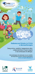 vademecum estate in città e aerosolterapia